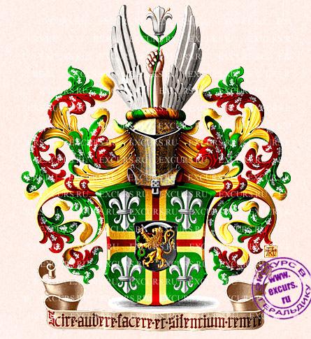 змея на гербе