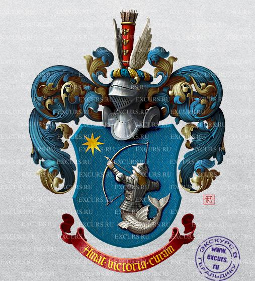 Герб семьи тарабриных