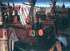 Отплытие крестоносцев на Святую землю